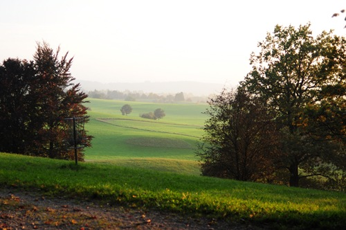 View of Weilheim's hole 13