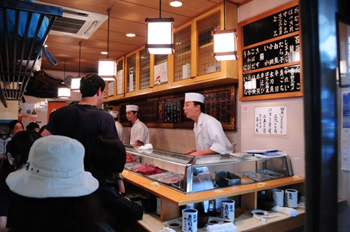 Sushi Dai - Tsukiji, Tokyo