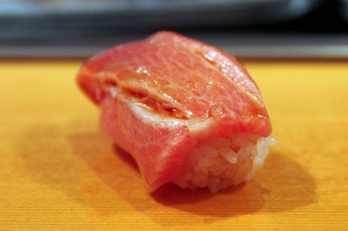 Sushi Dai Toro - fatty tuna