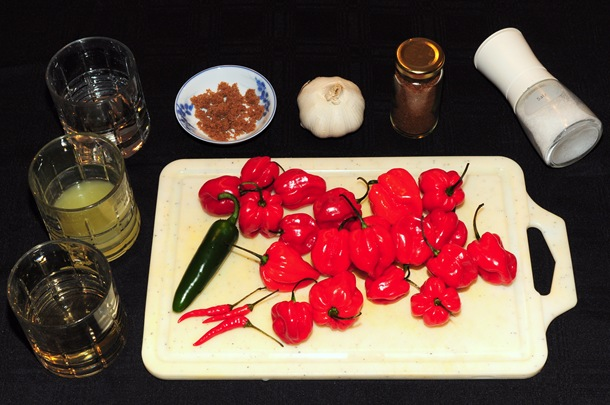 Roasted Garlic Habanero Hot Sauce | Dave's Photo & Travelblogue