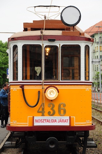 Budapest Nostalgia Tram