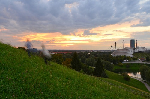 Olympiapark Sunset