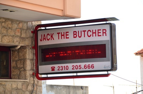 Jack the butcher!