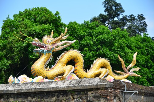 Hue Imperial City Dragon