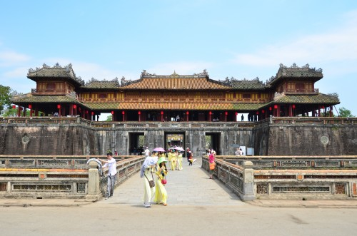 Hue Imperial City Citadel Gates