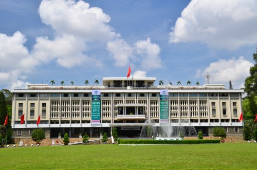 Reunification Hall in Ho Chi Minh City