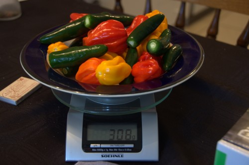 Peppers pre-smoking
