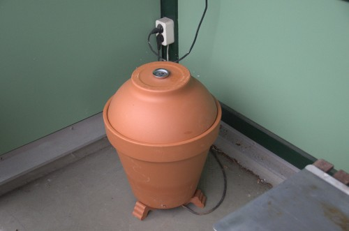 Terracotta smoker